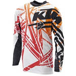 2014 KTM Powerwear Flux Jersey - KTM OEM Parts Dirt Bike Riding Gear