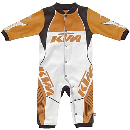 KTM Powerwear Infant Racing Romper - Smooth Industries Speed Romper - Mechanix Wear