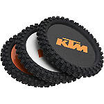 KTM OEM Parts Knobby Coaster Set - KTM OEM Parts Motorcycle Collectibles
