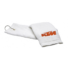KTM OEM Parts Mini Sport Towel - Saddlemen Tank Bag E-Pak