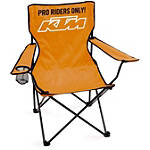 KTM OEM Parts Racetrack Chair - Motorcycle Collectibles