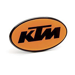 KTM OEM Parts Trailer Hitch Cover - Fox Mudpaw Gloves - Bones