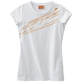2014 KTM Powerwear Women's Logo T-Shirt - 2013 Klim Women's Sierra Long Sleeve T-Shirt