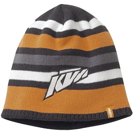 KTM Powerwear Youth Striped Beanie - Smooth Industries MX Superstars Holiday Stocking