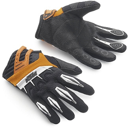 2014 KTM Powerwear Youth Spectrum Gloves - Answer Adult Hip Pads - Black