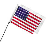 Kuryakyn Antenna Mount Flag Kit - Cruiser Flag Pole Accessories