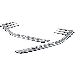 Kuryakyn AirMaster Accents For Mid-Frame Air Deflectors - Kuryakyn Plug-N-Play Sissy Bar Pad
