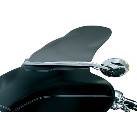 Kuryakyn AirMaster Aerodynamic Windshield - Clear - Main