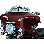 Kuryakyn AirMaster Windshield - Crosses & Thorns - Motorcycle Windshields & Accessories