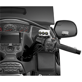 Kuryakyn Accessory Switch For Master Cylinder Reservoir Cover - 2006 Honda Gold Wing 1800 Audio Comfort - GL1800 Kuryakyn Footpeg Adapters - Front