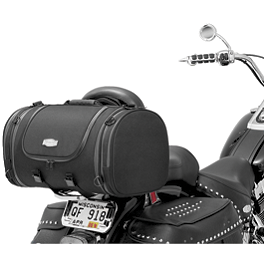 Kuryakyn Classic Tour Bag - Saddlemen TR3300DE Deluxe Rack Bag