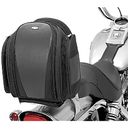Kuryakyn Mini Grantour Bag - 1997 Suzuki Savage 650 - LS650P Kuryakyn Mirror Adapter Mounts