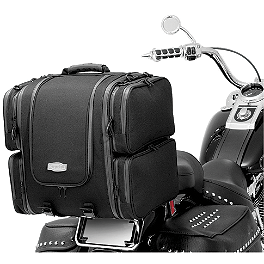 Kuryakyn Ultra Tour Bag - 2007 Yamaha V Star 650 Classic - XVS65A Kuryakyn Clutch Cable Ferrule Accent