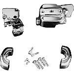 Kuryakyn Brake & Clutch Control Dress-Up Kit - Chrome - Kuryakyn Cruiser Fairing Kits and Accessories