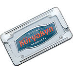 Kuryakyn Ball-Milled License Plate Frame -