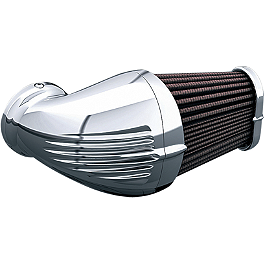 Kuryakyn Corsair Universal Air Cleaner Kit - 2004 Honda Shadow VLX Deluxe - VT600CD Kuryakyn Handlebar Control Covers
