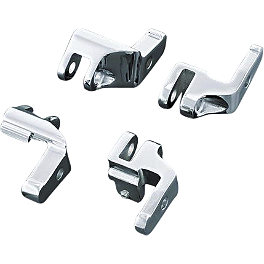 Kuryakyn Relocator Brackets For Driver Boards - Kuryakyn Kickstand Cover - Raptor