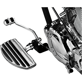 Kuryakyn ISO Driver Or Passenger Boards - Show Chrome Universal Floorboard Set With 1-1/4