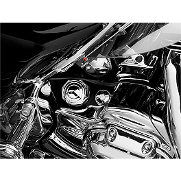 Kuryakyn Dipstick Accent - Peaked - 2006 Yamaha V Star 650 Custom - XVS65 Kuryakyn Replacement Turn Signal Lenses - Clear