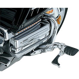 Kuryakyn Ergo II Cruise Mounts With Mini Arms - Switchblade - 2003 Honda Gold Wing 1800 - GL1800 Show Chrome Driver Peg Mounting Bracket