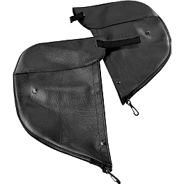 Kuryakyn Engine Guard Chaps - Plain - Kuryakyn Engine Guard Chaps With Drink Holder & Pocket