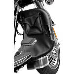Kuryakyn Engine Guard Chaps With Drink Holder & Pocket - Kuryakyn Cruiser Products