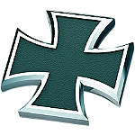 Kuryakyn Replacement Maltese Cross Emblem For Kaiser Pegs - Kuryakyn Cruiser Parts