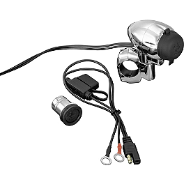 Kuryakyn Electrical Power Point - 2007 Suzuki Boulevard C50 - VL800B Kuryakyn Replacement Turn Signal Lenses - Clear