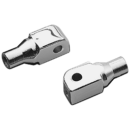 Kuryakyn Footpeg Adapters - Front - 2006 Yamaha Road Star 1700 Warrior - XV17PC Kuryakyn Splined Footpeg Adapter Mounts - Front