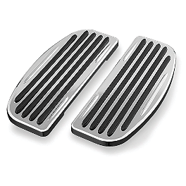 Kuryakyn Floorboard Covers - 2006 Honda VTX1800S2 Show Chrome Vantage Rear Highway Boards