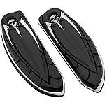 Kuryakyn Driver Floorboard Covers - Zombie - Kuryakyn Cruiser Parts