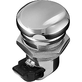 Kuryakyn Push Button Fuel Door Latch - 2013 Harley Davidson Road Glide Custom - FLTRX Kuryakyn Plug-In Driver Backrest