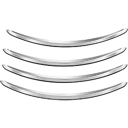 Kuryakyn Rear Fender Accents - Kuryakyn Grill - Chrome