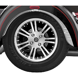 Kuryakyn Rear Fender Flares - Kuryakyn Trunk Latch Accent