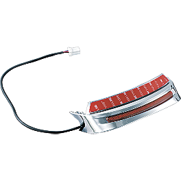 Kuryakyn Lighted Fender Skirt - Show Chrome Brake Light Flasher Module