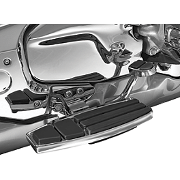 Kuryakyn Front Floorboard Kit - 2008 Honda Gold Wing 1800 Audio Comfort - GL1800 Show Chrome Heel-Toe Shifter