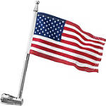 Kuryakyn Flag Pole For Kuryakyn Luggage Rack - Cruiser Flag Pole Accessories