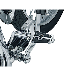 Kuryakyn Footpegs With Male Mounts - Kaiser - 2002 Honda Shadow Aero 1100 - VT1100C3 Kuryakyn Handlebar Control Covers