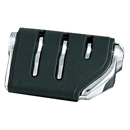 Kuryakyn Footpegs Without Adapters - Trident ISO Dually - Kuryakyn Plug-In Driver Backrest