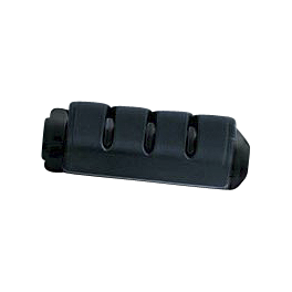 Kuryakyn Footpegs Without Adapters - Trident ISO Small Black - Kuryakyn Lower Swingarm Cover Extension