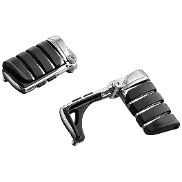 Kuryakyn Footpegs Without Adapters - Switchblade - 2006 Yamaha V Star 650 Silverado - XVS65AT Kuryakyn Footpeg Adapters - Front