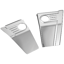 Kuryakyn Frame Trim - Show Chrome Master Cylinder Covers - Smooth