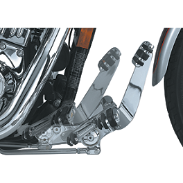 Kuryakyn Standard Forward Controls - Vance & Hines Shortshots Exhaust - Chrome