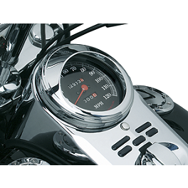 Kuryakyn Speedometer Bezel - Kuryakyn Emblems For Grips With Throttle Boss - Zombie