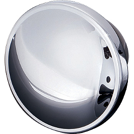 Kuryakyn Stock Style Gas Cap - Kuryakyn Head Bolt Covers - Stiletto
