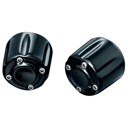 Kuryakyn Grip End Weights - Black - Main