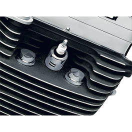 Kuryakyn Head Bolt Covers - Plain - Kuryakyn Hypercharger K&N Filter Element