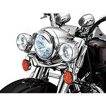 Kuryakyn Headlight Visor -  Cruiser Lights & Lighting