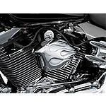 Kuryakyn Horn Cover - Flame - Kuryakyn Cruiser Products