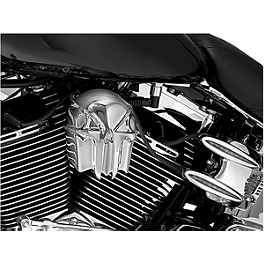 Kuryakyn Horn Cover - Skull - 2003 Yamaha Royal Star 1300 Venture - XVZ1300TF Kuryakyn Replacement Turn Signal Lenses - Clear